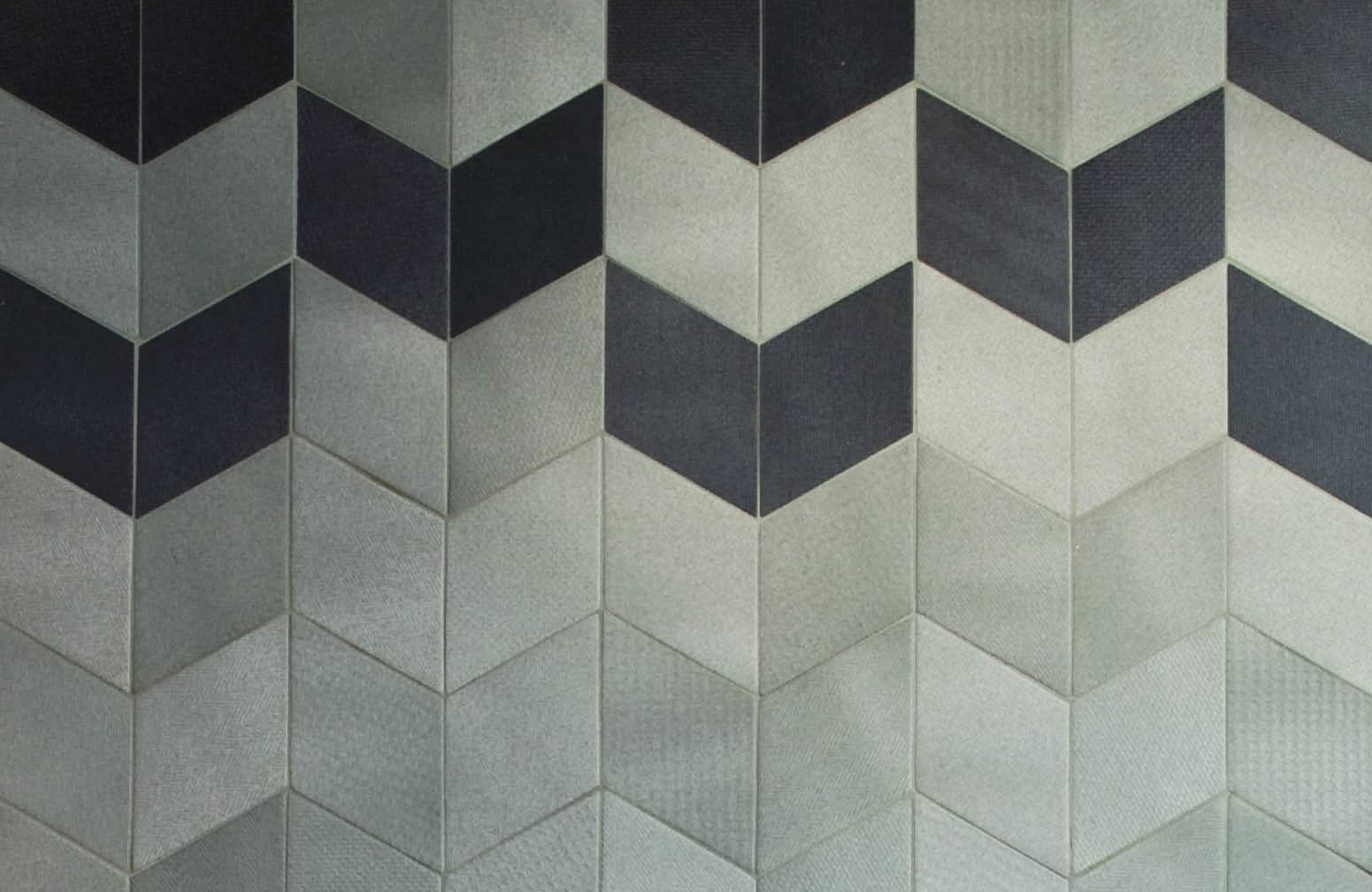 Rumble In The Rhombus Tex Tile Weave Inspired Ceramic Tiles Cover