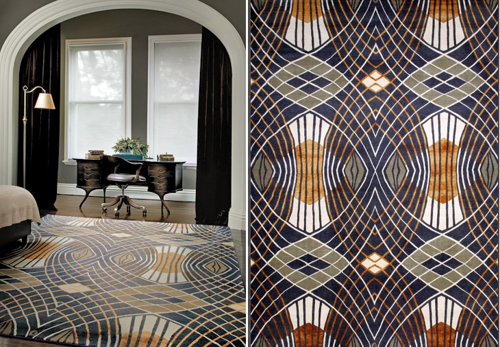 Well-liked Catherine Martin rug collection predicts an Art Deco revival  RR42