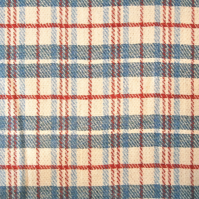 London Cloth Company laundry bag plaid tartan