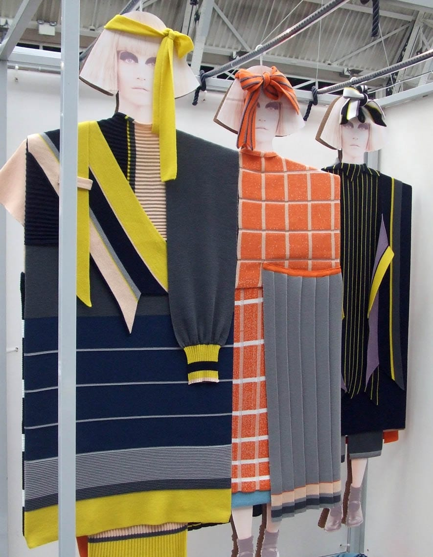 Francesca Stride, knitwear desiger, Glasgow School of Art