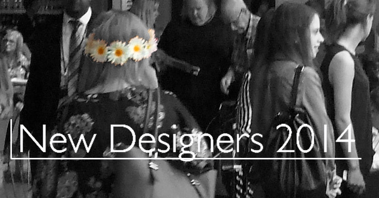 New Designers 2014 Flower Girl image Denna Jones