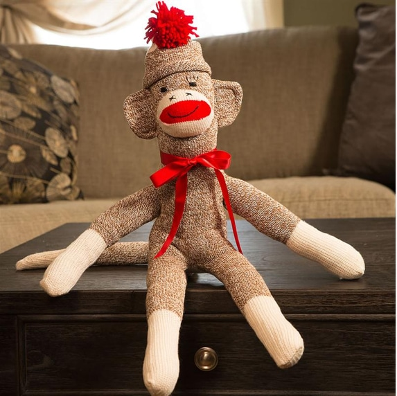 Rockford Sock Monkey at Lehman's